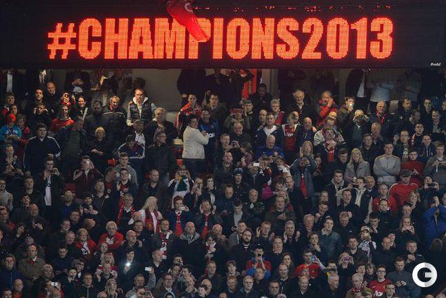 """МЮ"" - чемпион Англии сезона-2012/13. Фото REUTERS."