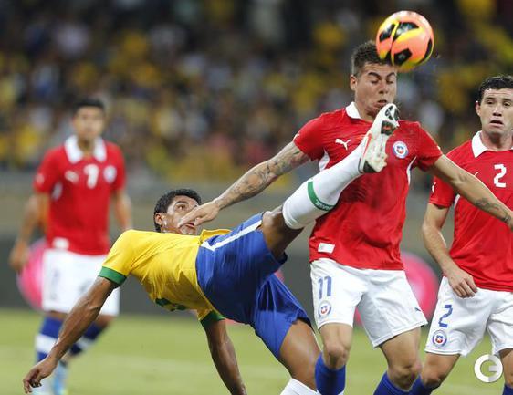 Бразилия сыграла вничью с Чили
