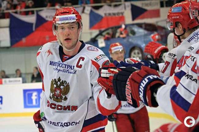 Сборная России - победитель Евротура