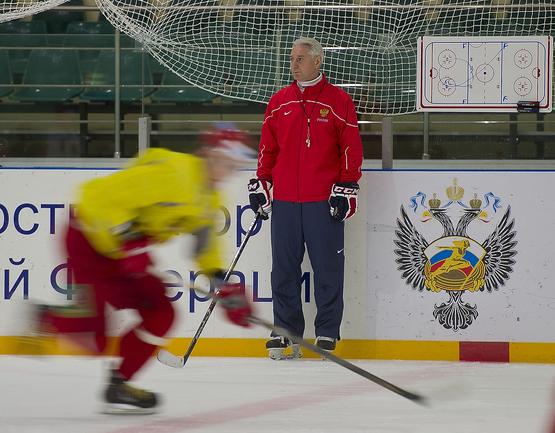 Сборная России готовится к чемпионату мира