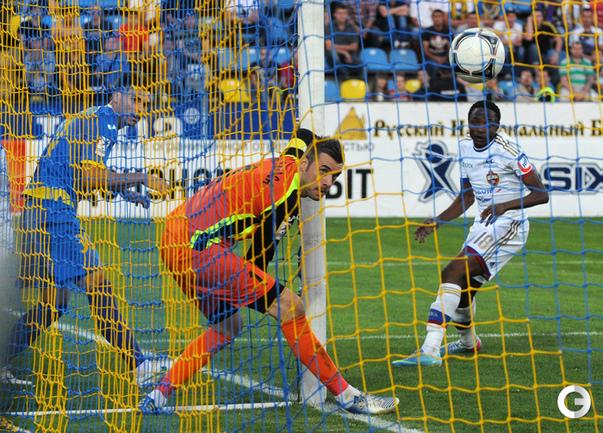 Стипе Плетикоса пропускает первый гол.