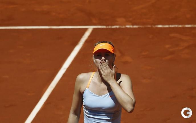 Мария ШАРАПОВА в полуфинале турнира в Мадриде победила Ану Иванович.