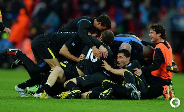 "Уиган"" в финале Кубка Англии победил ""Манчестер Сити""."