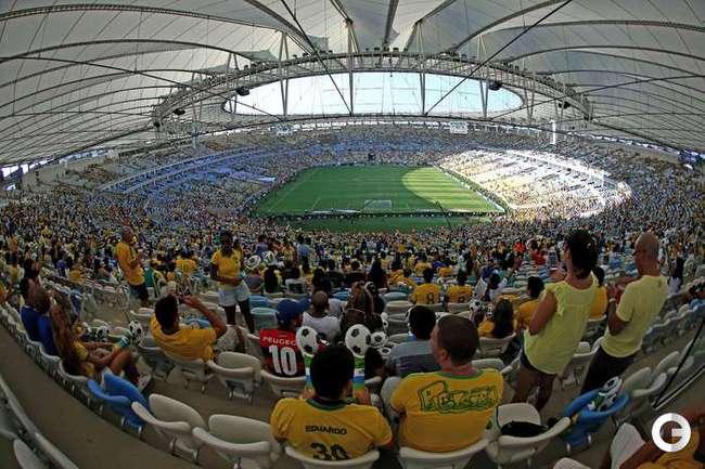 """Бразилия - Англия: боевая ничья на обновленной """"Маракане"""""""