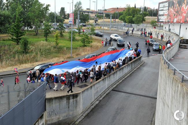 Португалия - Россия: русский десант перед матчем