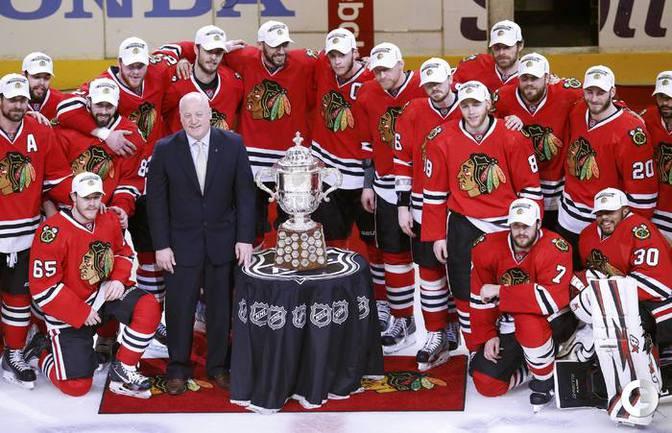 """""""Чикаго"""" в финале Кубка Стэнли."""