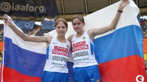 У Лошмановой - золото, Кирдяпкиной - серебро чемпионата мира!
