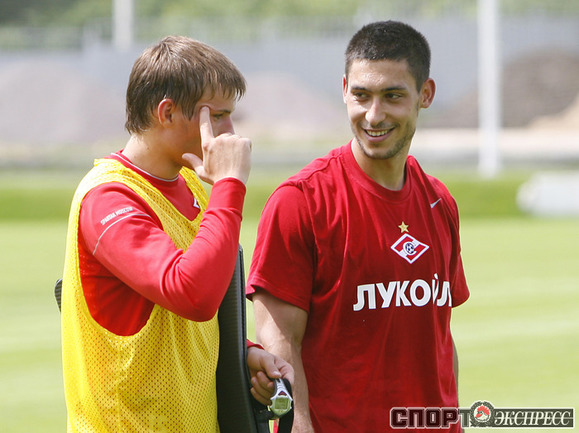 Сергей Паршивлюк и Малик Фати (справа).