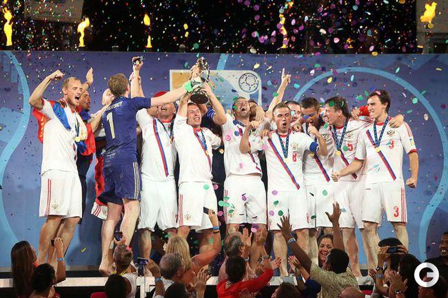 Сборная России - снова чемпион мира!