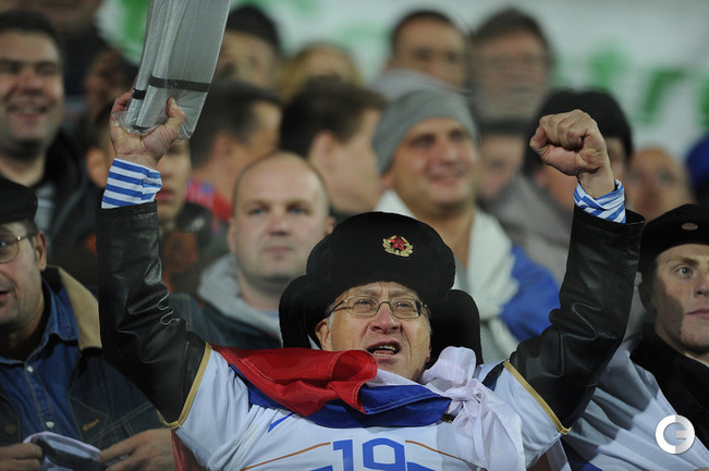 Россия разгромила Люксембург