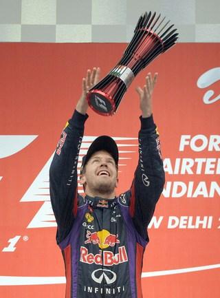 Себастьян ФЕТТЕЛЬ - четырехкратный чемпион мира. Фото AFP.