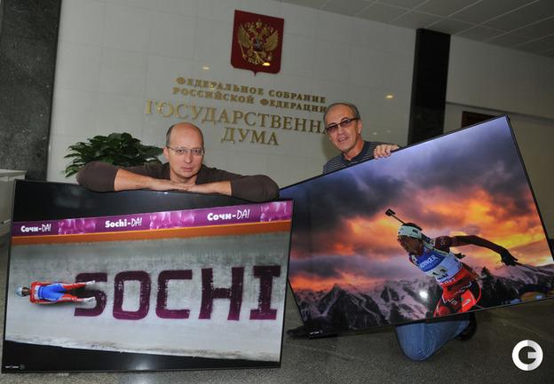 Андрей Голованов (слева) и Сергей Киврин.