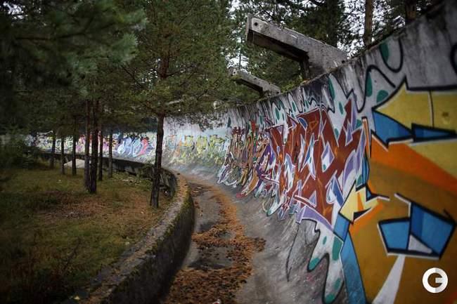 Олимпийские объекты Сараево 30 лет спустя