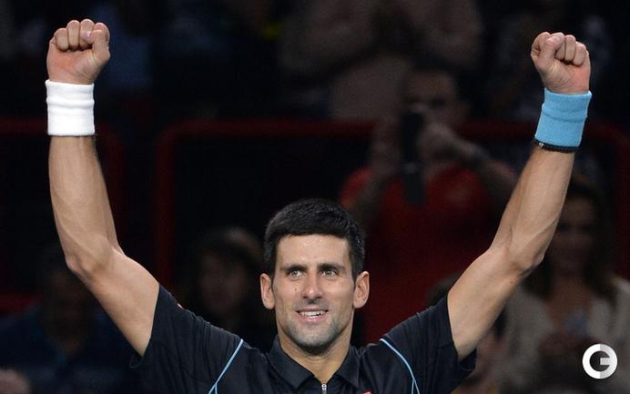 Джокович вышел в четвертьфинал турнира в Париже