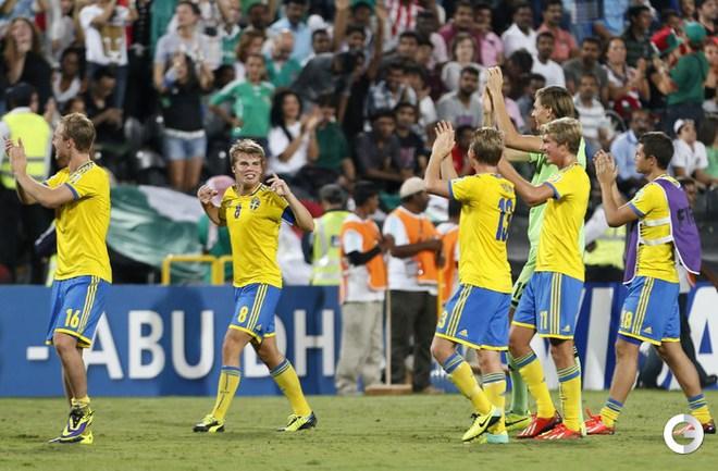 Юноши Швеции бронзовые призеры чемпионата мира