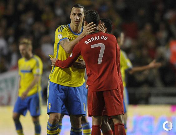 Роналду принес португальцам победу над Швецией