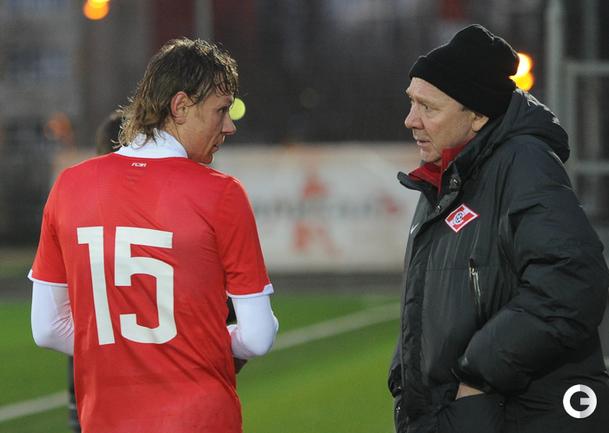 Олег Романцев и Валерий Карпин.