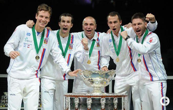 Чехия - обладатель Кубка Дэвиса