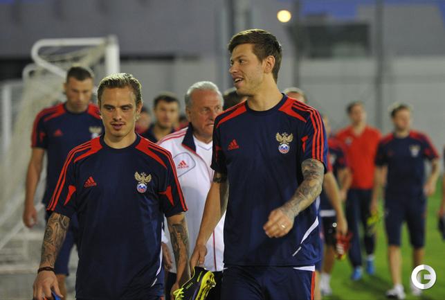 Андрей Ещенко и Федор Смолов.