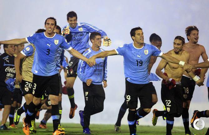 Уругвай - последний участник чемпионата мира-2014