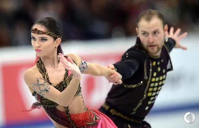 """Базарова и Ларионов - вторые на """"Гран-при"""" Москвы"""