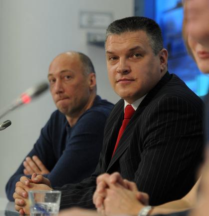 Евгений Пашутин - новый главный тренер сборной России