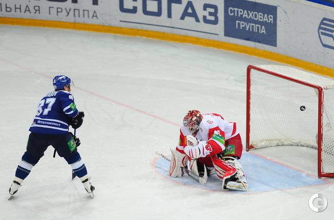 победный буллит Леонида Комарова.