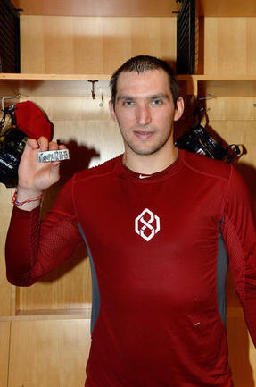 Овечкин - первая звезда игрового дня в НХЛ