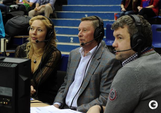 Илона Корстин, Сергей Иванов и Роман Скворцов.