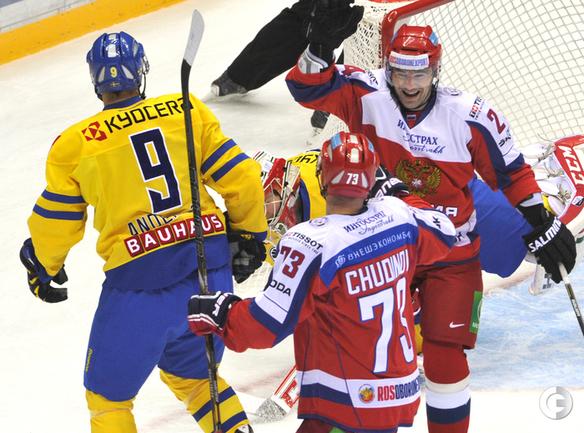 Сборная России победила шведов в Сочи!