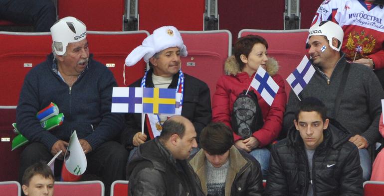 Финляндия первая в Сочи
