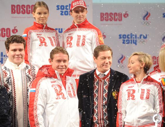 Форма для олимпийцев сборной России