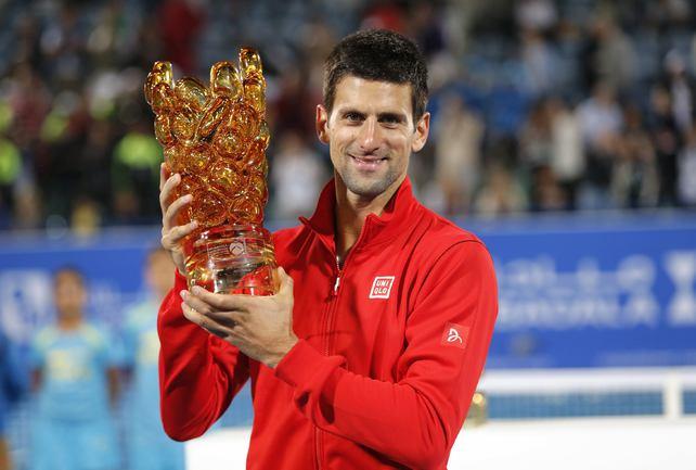 Джокович выиграл показательный турнир в Абу-Даби