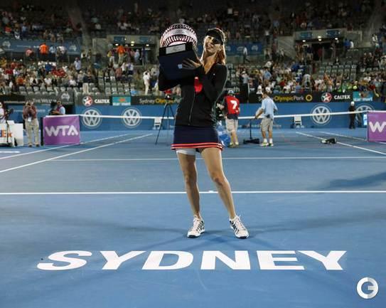 Пиронкова выиграла турнир в Сиднее
