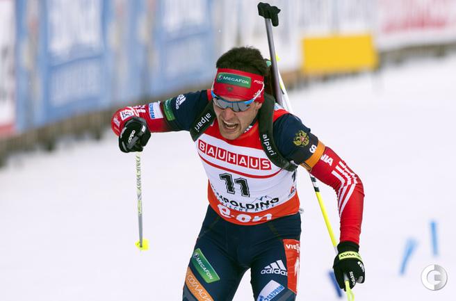 Гараничев - третий в гонке преследования