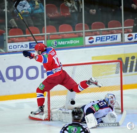Победный буллит Александра Радулова.