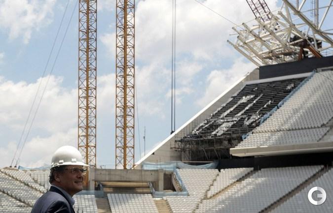 Жером Вальке посетил стадион в Сан-Паулу