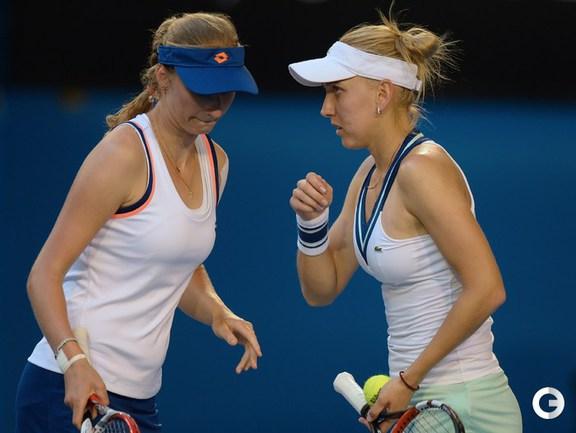 Веснина и Макарова уступили в финале Australian Open