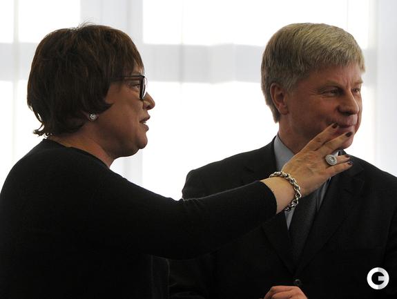 Ольга Смородская и Николай Толстых.