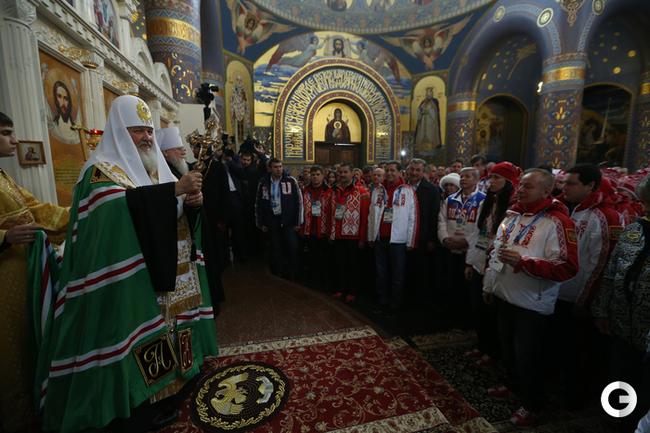 В Сочи прошел предолимпийский молебен
