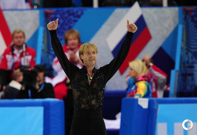 Плющенко выиграл произвольную программу