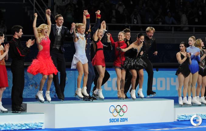 Первое золото России!!!