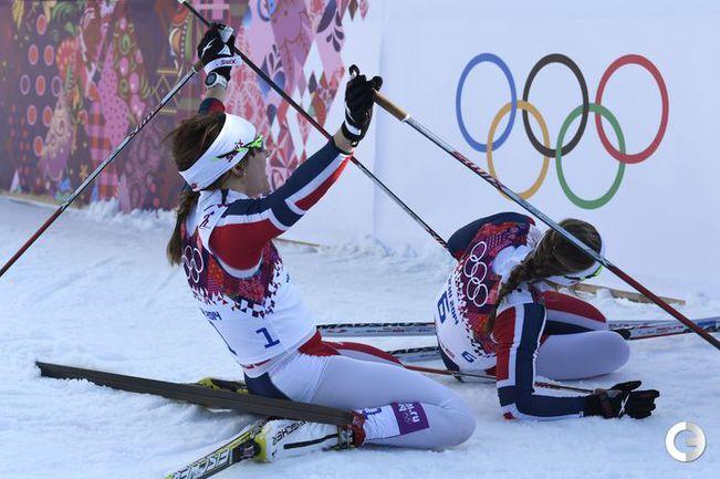 Фалла и Хаттестад стали олимпийскими чемпионами в спринте