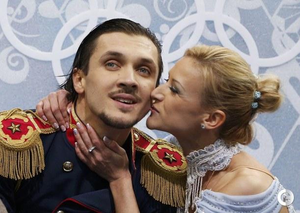 Волосожар и Траньков установили мировой рекорд в короткой программе