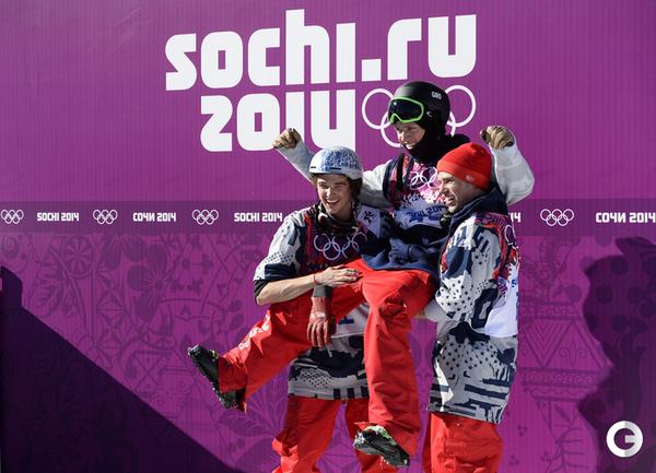 Американцы заняли весь пьедестал в ски-слоупстайле
