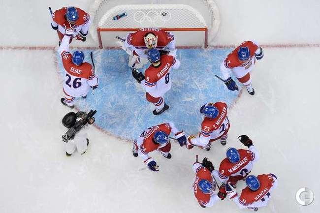 Хоккеисты сборной Чехии обыграли Латвию
