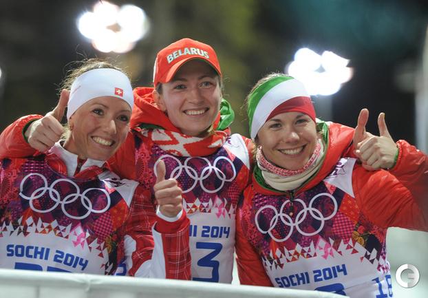 Дарья Домрачева - двукратная чемпионка Сочи-2014