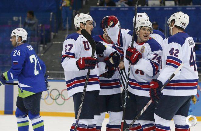 США одержали третью победу на Олимпиаде