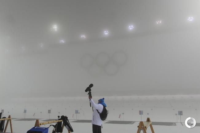 Мужской масс-старт отменен из-за тумана