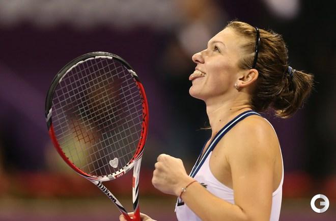 Халеп - победительница турнира в Дохе